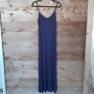 Forever 21 Navy Blue Maxi Dress Size XSmall NWT